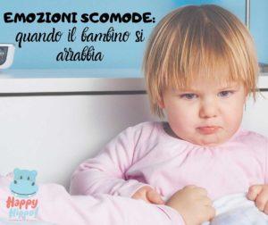 Emozioni scomode: quando il bambino si arrabbia @ Happy Hippo