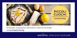 Piccoli Cuochi - Carnival Party @ Novotel Brescia2