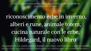Riconoscimento erbe selvatiche a Cigole @ Biblioteca Cigole Palazzo Cigola Martinoni
