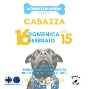 Scodinzolando per Brescia @ ritrovo Casazza