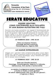Serate educative per genitori @ Parrocchia di San Paolo