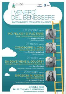Venerdì del benessere a Cigole @ Biblioteca Cigole Palazzo Cigola Martinoni
